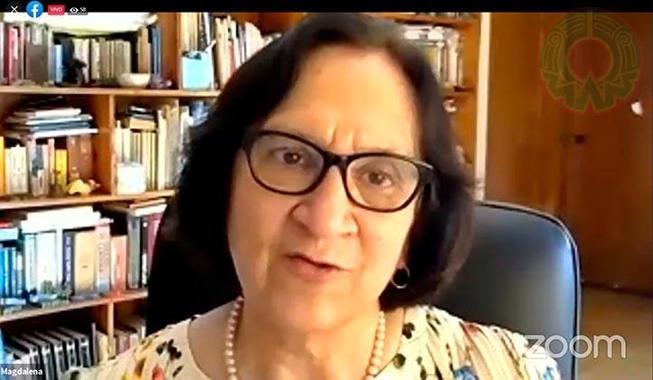 Magdalena Hernández Alarcón inauguró las actividades