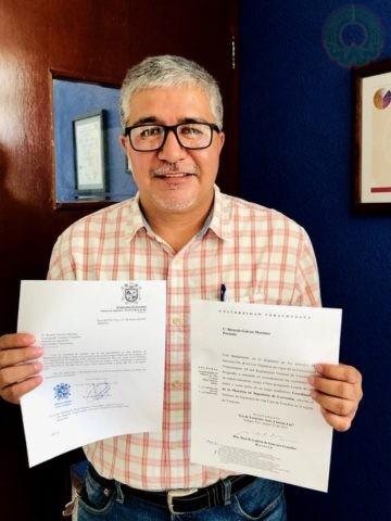 Ricardo Galván Martínez, coordinador de la Maestría en Corrosión y secretario Académico del Instituto de Ingeniería
