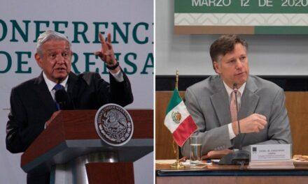 Ex embajador Landau tiene visión distinta sobre México y el crimen: AMLO
