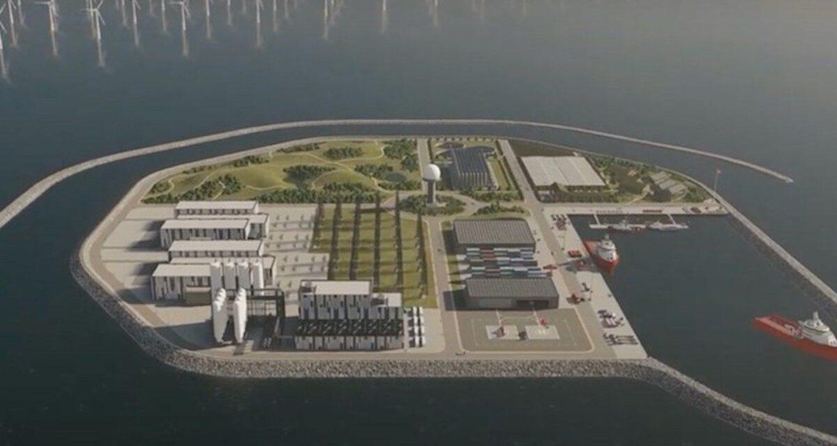 Dinamarca construirá la primera isla de energía eólica del mundo
