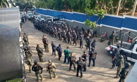 Desarma SSP a Policía Municipal de San Andrés Tuxtla