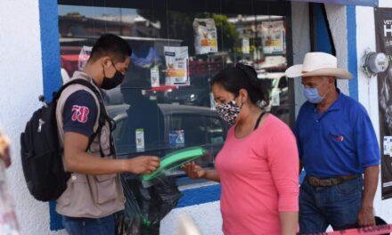La noche de este jueves en Xalapa 10 casos positivos de covid-19 confirmados