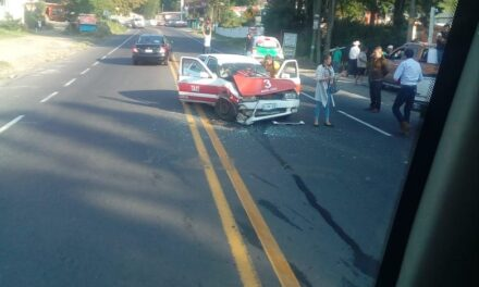 Accidente de tránsito en la carretera federal Perote – Xalapa