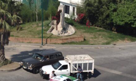 Accidente de tránsito sobre Bulevar Europa esquina Moscú