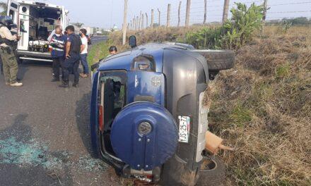 Se voltea sobre la carretera Xalapa-Veracruz, a la altura de El Lencero