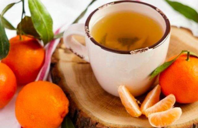 Beneficios de la infusión de cáscara de mandarina