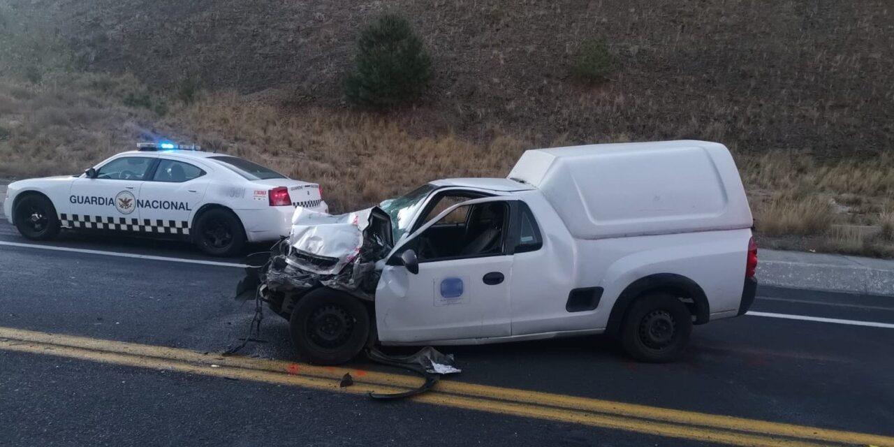Precaución por accidente en la autopista Amozoc-Perote Libramiento Perote