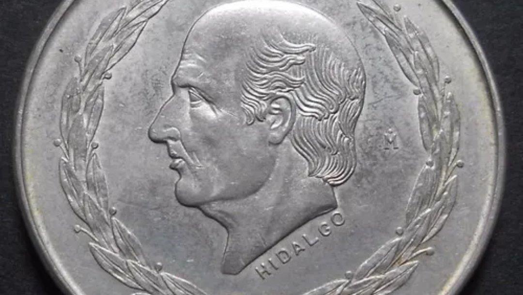 Moneda conmemorativa de 5 pesos ahora vale hasta 5 mil en internet Esta moneda tiene el rostro de Miguel Hidalgo y Costilla