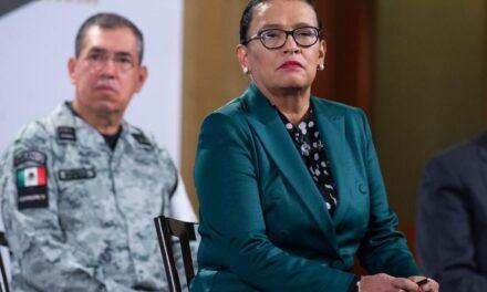 Rosa Icela Rodríguez, afirmó que los homicidios han disminuido en el país, Guanajuato, Baja California, Jalisco, Estado de México, Michoacán y Chihuahua concentran el 50.7% de homicidios