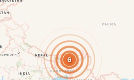 Se registra un potente sismo de magnitud 6,2 en la India