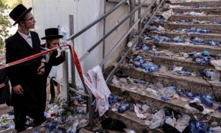 ESTAMPIDA HUMANA DEJA AL MENOS 44 MUERTOS EN PEREGRINACIÓN JUDÍA DE ISRAEL