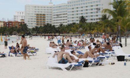 Registra Cancún ocupación hotelera arriba del 60%