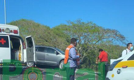 Accidente de tránsito sobre la carretera VERACRUZ – XALAPA