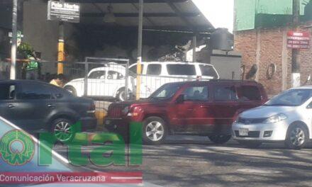 Accidente de tránsito en la avenida Araucarias, Xalapa