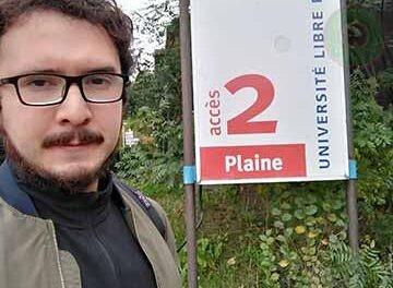 Egresado de la FCQ-UV es investigador doctoral en la U. Libre de Bruselas
