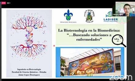 Biotecnología, carrera de alto impacto: Jaime López