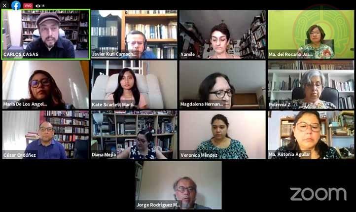 Las sesiones del seminario se transmiten por Facebook y por el canal de YouTube del CA Estudios Antropológicos y Transdisciplinares