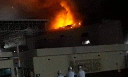 Video: Se incendia planta de Nestlé en Veracruz