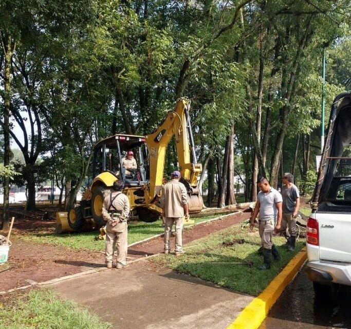 CMAS realiza trabajos de mantenimiento para solucionar desabasto de agua