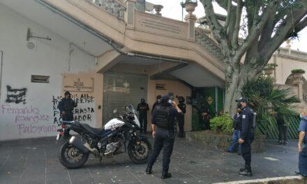 Muere persona en el interior de la Pinacoteca Diego Rivera, en Xalapa