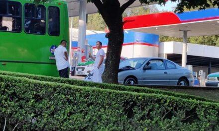 Accidente de tránsito sobre la avenida Ruiz Cortines, a la altura de Finanzas