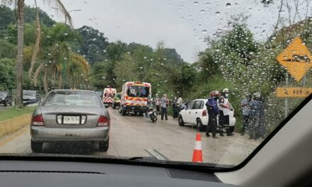 Tarde de  accidentes en la carretera Xalapa – Coatepec