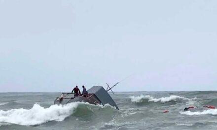 Naufragio de bote de migrantes en California deja tres muertos