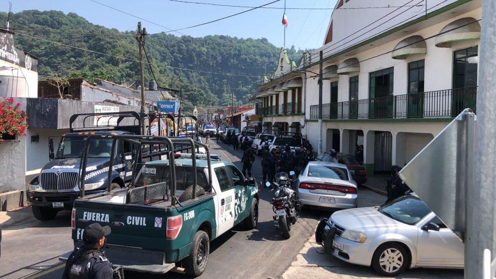 Policía Estatal toma el control de la seguridad en Jilotepec