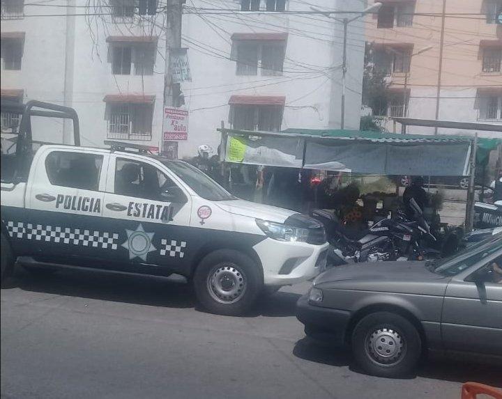 Movimiento policíaco tras riña en la Colonia Agua Santa 2 en Xalapa
