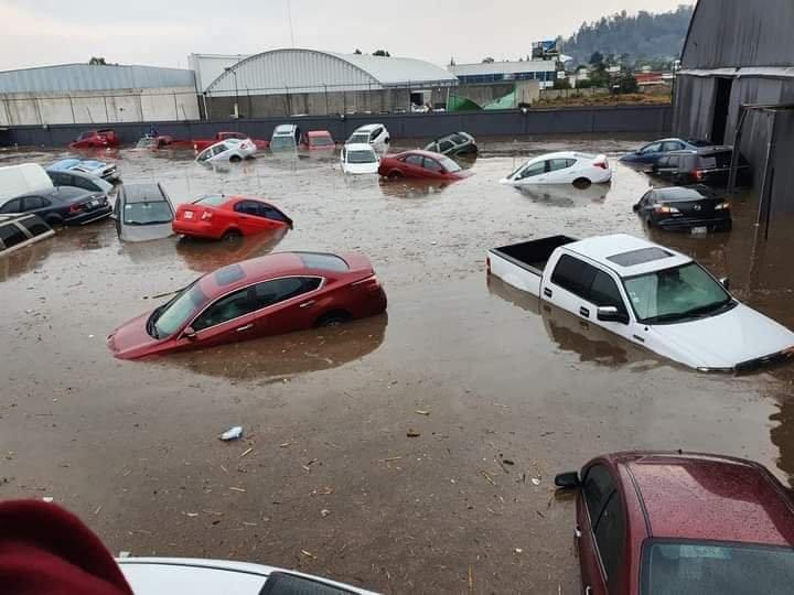 Videos: Así quedó Metepec, en Estado de México, después de una intensa tormenta