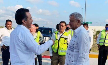 AMLO visitó este día el norte del Estado de Veracruz