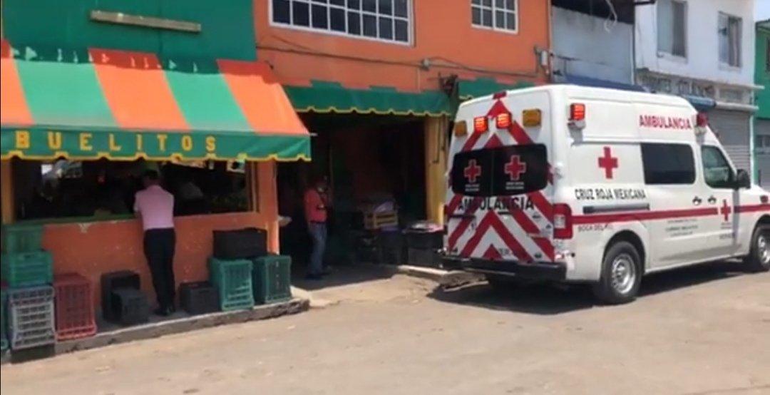 Falle una persona en el interior del mercado Malibran, tras sufrir un infarto