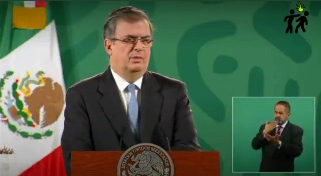 """El secretario de Relaciones Exteriores (SRE), Marcelo Ebrard, dijo que está a la entera """"disposición de las autoridades"""" tras el colapso de la Línea 12 del Metro"""