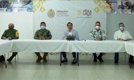 Con la llegada de más elementos de Guardia Nacional al sur de Veracruz, se hace reestructuración de las funciones de los elementos que participan en materia de seguridad.