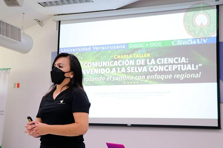 Elvira Morgado Viveros, directora de Comunicación de la Ciencia