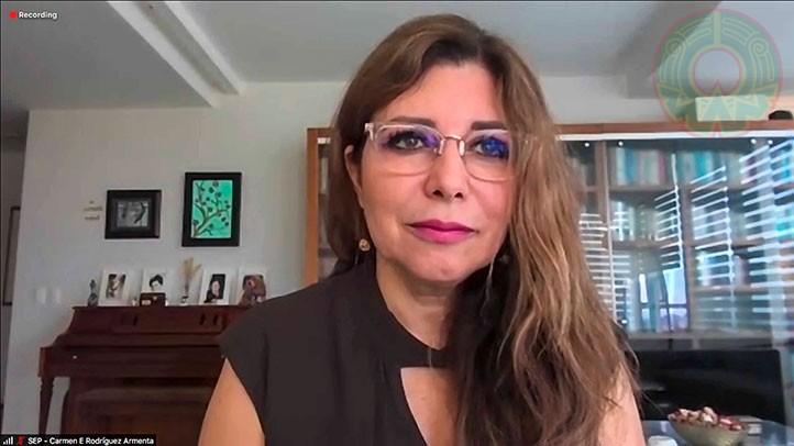 Carmen Rodríguez Armenta, directora general de Educación Superior Universitaria Intercultural de la SEP