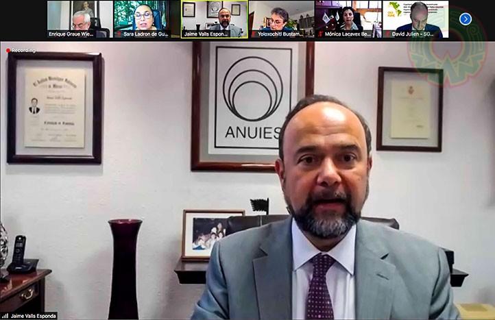 Jaime Valls Esponda, secretario general Ejecutivo de la ANUIES