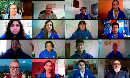 UV augura éxito a 12 estudiantes que harán estancia en Francia