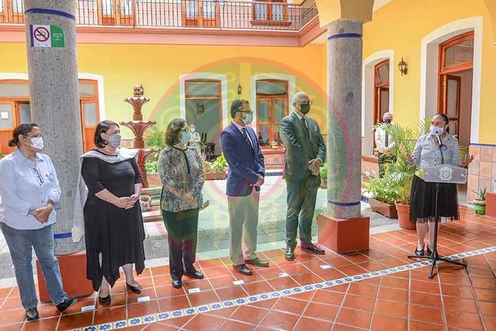La Rectora se congratuló de que la UVI tenga su sede en el corazón de Xalapa