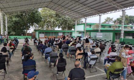 Este día inició en Xalapa, Boca del Río y Poza Rica, la aplicación de segundas dosis a personas 50 a 59 años