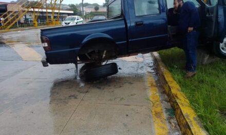 Accidente de tránsito sobre la carretera Xalapa-Coatepec