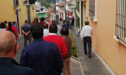 La noche de este domingo en Xalapa 10 casos positivos de covid-19