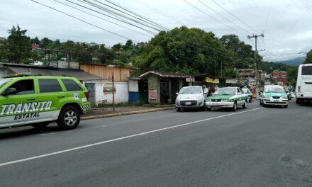 Accidente sobre avenida Mártires 28 de Agosto, Xalapa