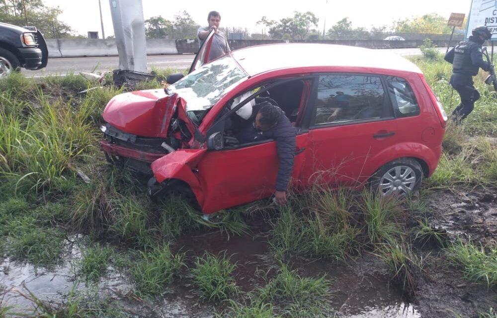 Dos muertos y dos heridos en accidente sobre la carretera Xalapa-Veracruz a la altura deRinconada