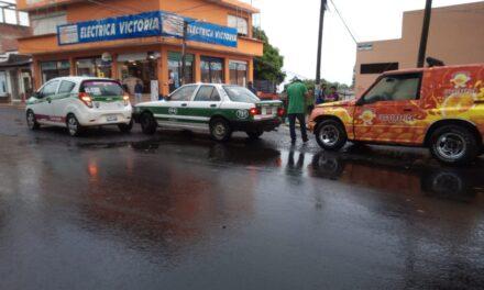Carambola en la avenida Miguel Alemán, Xalapa