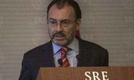 SFP inhabilita por 10 años a Luis Videgaray por inconsistencias en sus declaraciones
