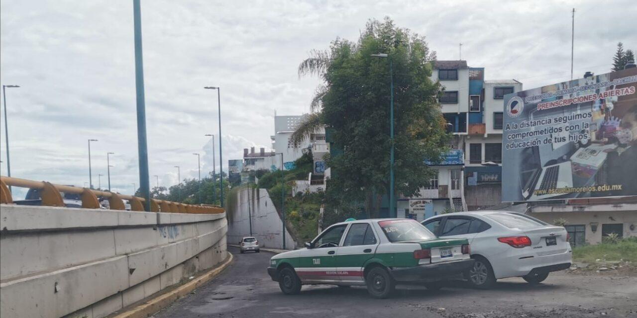 Accidente de tránsito sobre Circuito Presidentes, Xalapa