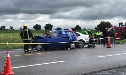 Fuerte accidente deja 7 muertos y varios prensados en la Amozoc-Perote