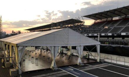 Cerrará en julio el hospital COVID instalado en el Autódromo Hermanos Rodríguez