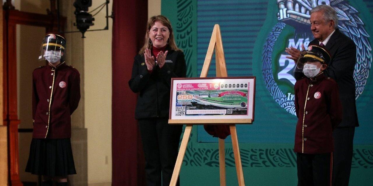 Lotería Nacional sorteará palco en Estadio Azteca y otros bienes el 15 de septiembre
